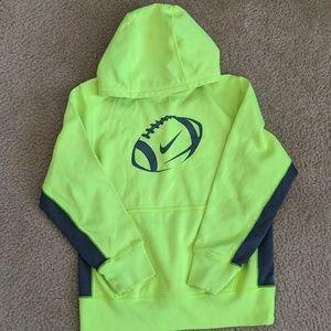 Nike dri fit boys hoodie EUC